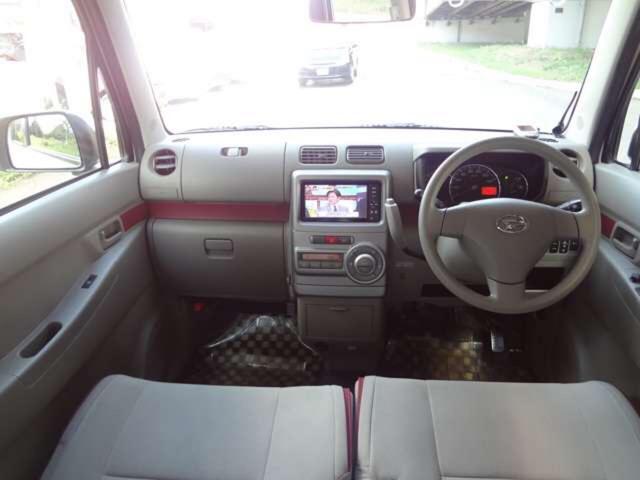X 4WD ナビ 軽自動車 ホワイト CVT AC AW(8枚目)