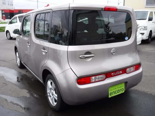 日産 キューブ 15X FOUR 新車保証継承 メーカーオプションナビ