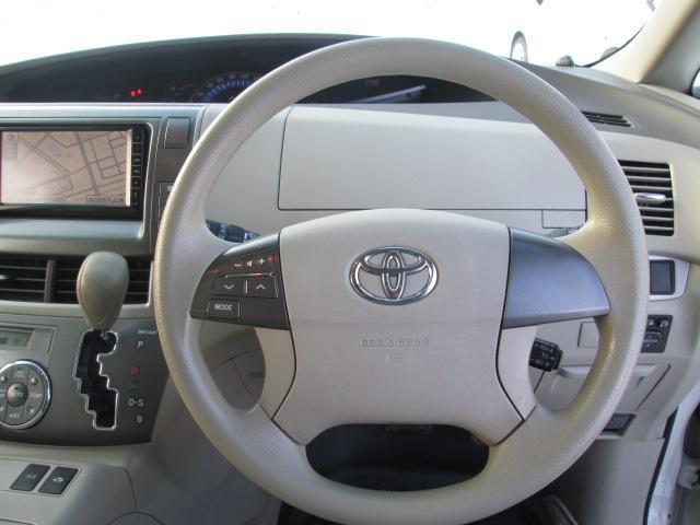 トヨタ エスティマハイブリッド X 4WD 7人乗り スタットレス装着済み
