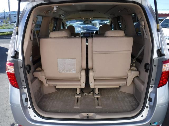 トヨタ アルファードハイブリッド G 4WD 両側パワースライドドア 純正8インチナビ