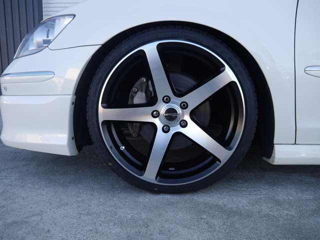 4WD新品車高調 新品20インチ ETC HDDナビ(7枚目)
