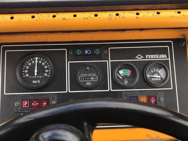 古河 ホイールローダー 0.8リューベ 4WD ディーゼル(8枚目)