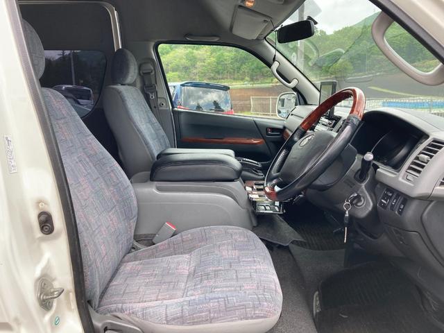 スーパーロングGLターボ 1ナンバー貨物登録 普通免許可能 4WD ベッドキット付 車中泊仕様(13枚目)