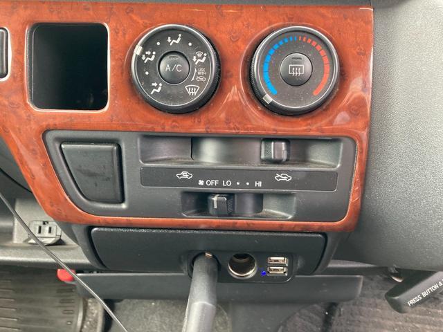 スーパーロングGLターボ 1ナンバー貨物登録 普通免許可能 4WD ベッドキット付 車中泊仕様(17枚目)
