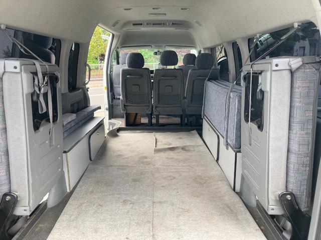 スーパーロングGLターボ 1ナンバー貨物登録 普通免許可能 4WD ベッドキット付 車中泊仕様(23枚目)