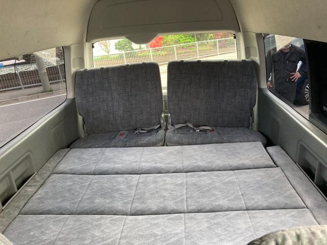 スーパーロングGLターボ 1ナンバー貨物登録 普通免許可能 4WD ベッドキット付 車中泊仕様(26枚目)