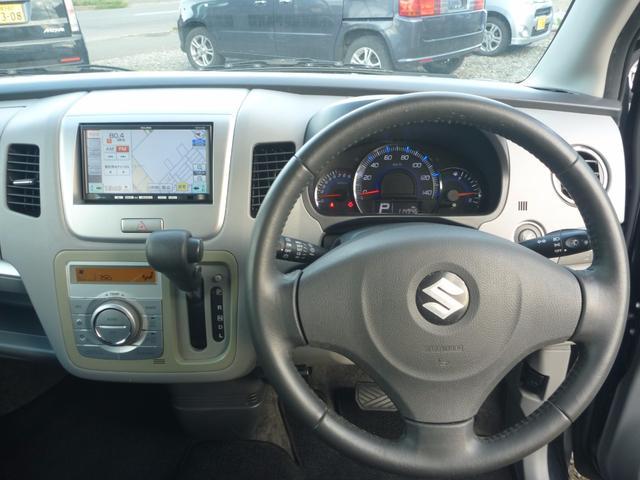 スズキ ワゴンR FXリミテッドII 4WD メモリーナビ 純正15インチAW