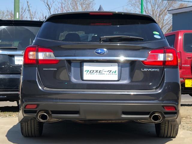 1.6GTアイサイト 4WD 黒革シート シートヒーター 運転席パワーシート アイサイトver.3 社外HDDナビ Bカメラ ドラレコ ワンオーナー 本州仕入れ(3枚目)