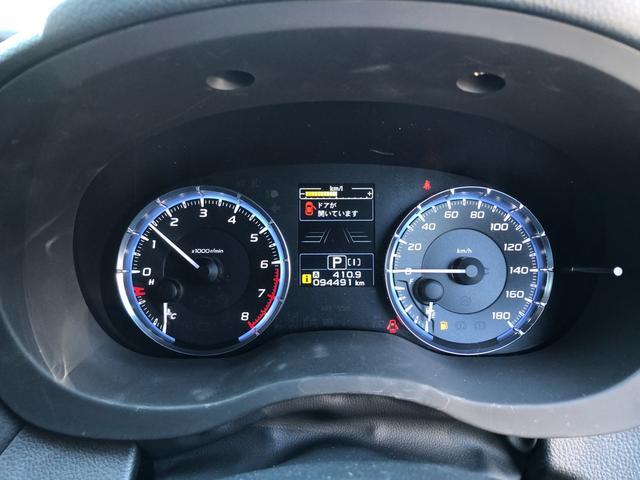 1.6GTアイサイト 4WD 黒革シート シートヒーター 運転席パワーシート アイサイトver.3 社外HDDナビ Bカメラ ドラレコ ワンオーナー 本州仕入れ(14枚目)
