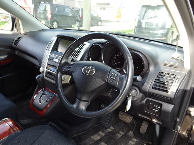 トヨタ ハリアー 240G Lパッケージ4WD PシートナビBカメラ1年保証付