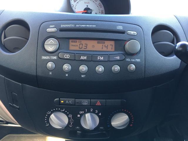 ダイハツ エッセ VS メモリアルエディション 4WD 純正オーディオ