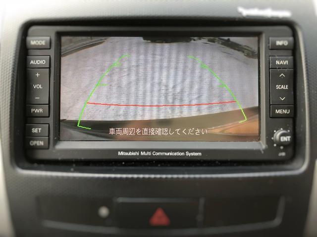 三菱 アウトランダー G  本州仕入れ HDDナビ Bカメラ 社外16インチAW