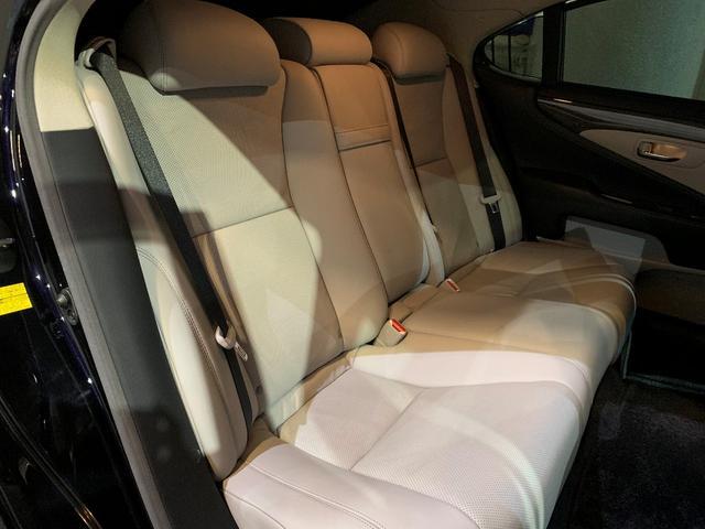 LS600h バージョンS Iパッケージ 当社ユーザー買取車/白革シート/純正HDDナビ/レーダー/ドラレコ/WALDフルエアロ/RENOVATIO22インチ/サスコン(8枚目)