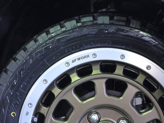 スズキ ハスラー G 新車WORK Tグラビック+オープンカントリーRT