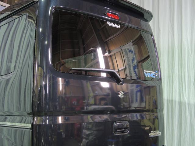 スズキ エブリイワゴン PZターボ 35mmアップ WORK15 届出済未使用車