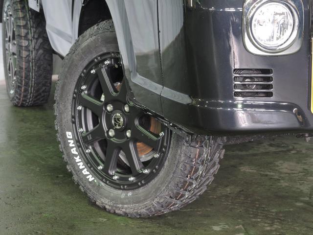 X 4WD 5MT 25mmリフトアップ マッドタイヤセット(7枚目)