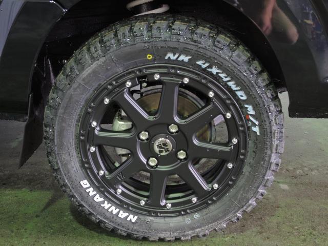 X 4WD 5MT 25mmリフトアップ マッドタイヤセット(11枚目)