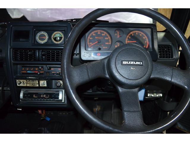 ターボ 4WD 5速MT 社外前後バンパー(7枚目)
