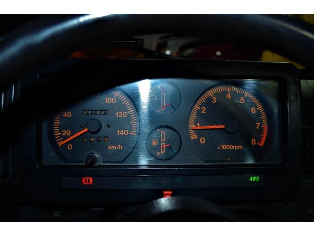 ターボ 4WD 5速MT 社外前後バンパー(15枚目)