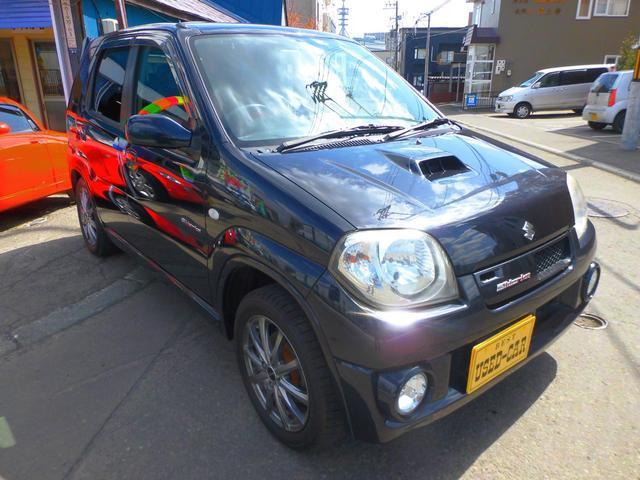 スズキ Keiワークス ターボ4WD 5速 純正レカロシート