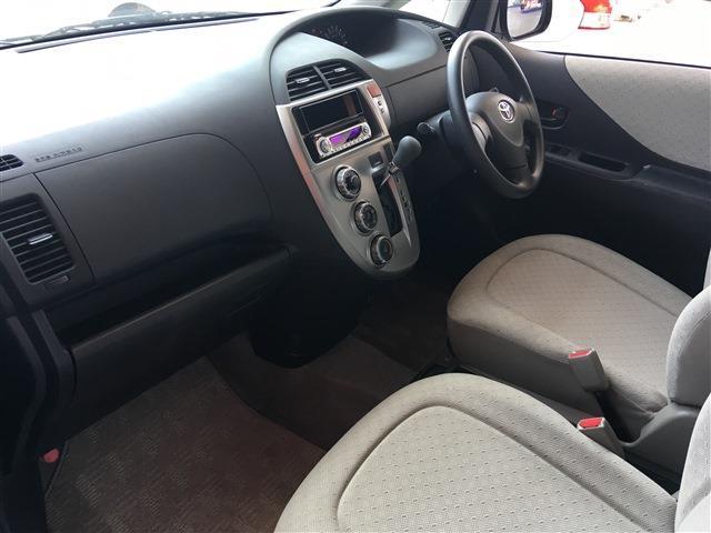 トヨタ ラクティス X 4WD 社外アルミホイール ドアミラーウィンカー