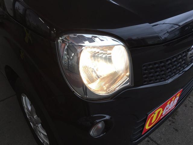 日産 モコ X FOUR 4WD 純正バックカメラ 夏冬タイヤ付き