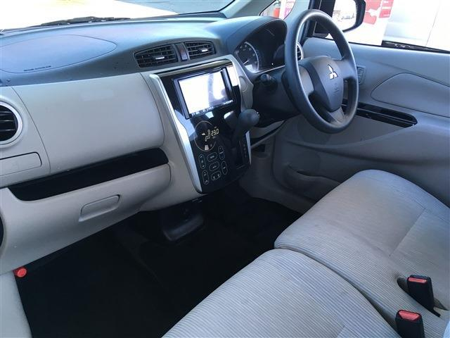三菱 eKワゴン M 4WD 社外メモリーナビ ETC