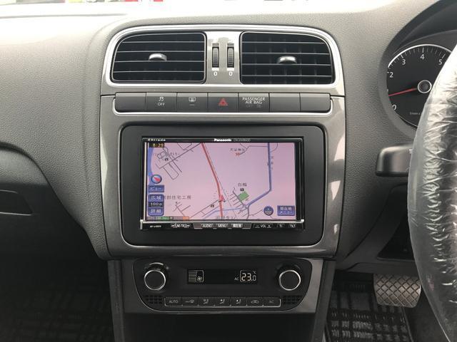 フォルクスワーゲン VW ポロ TSIハイライン HDDナビ バックカメラ キセノン