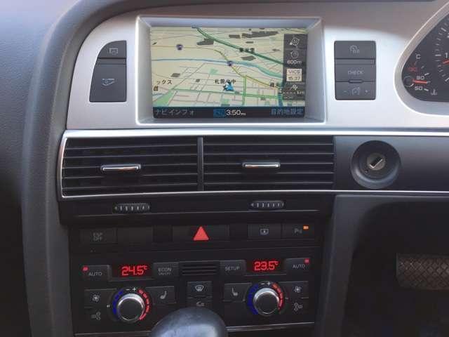 アウディ アウディ A6 3.0TFSIクワトロ 4WD 後期 黒革 地デジ
