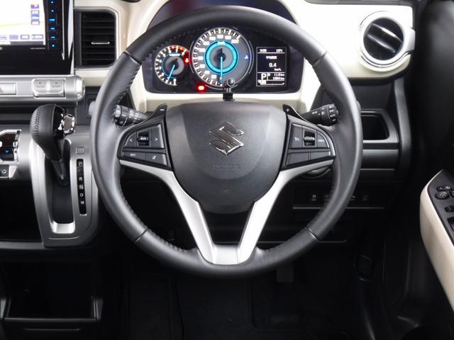 ハイブリッドMZ 4WD 新品ナビ・ワンセグ・Bluetooth・禁煙車・衝突軽減・横滑り防止・アイドリングストップ・コーナーセンサー・クルーズコントロール・パドルシフト・シートヒーター・LEDヘッドライト・フォグランプ(10枚目)