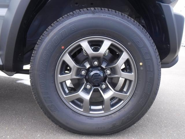 JC 4WD・5速MT・衝突軽減装置・横滑り防止機能・プッシュスター・スマートキー・LEDヘッドライト・フォグランプ・オートライト・クルーズコントロール・ステアリングリモコン・シートヒーター・背面タイヤ(35枚目)