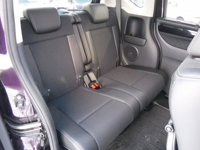 G・ターボLパッケージ 4WD・新品ナビ付き・純正エンスタ・両側自動ドア・シートヒーター・Bカメラ・HIDライト・フォグ・ステリモ・クルコン・スマートキー・Pスタート・横滑り防止・ハーフレザーシート・純正15インチアルミ(14枚目)
