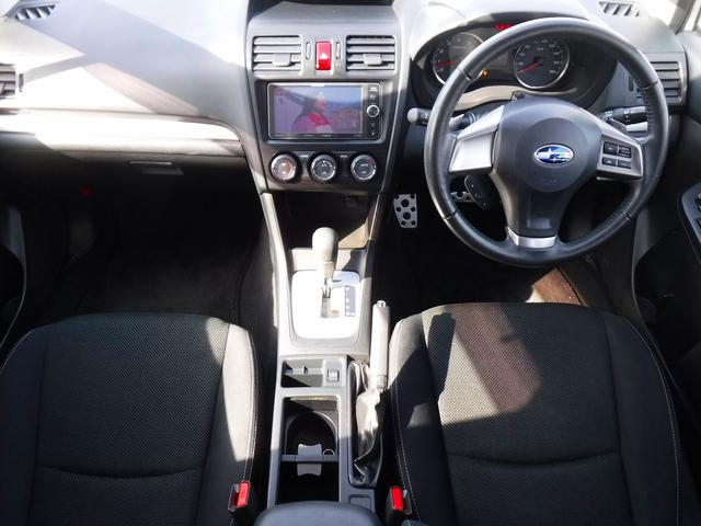 2.0i-L アイサイト 4WD・禁煙車・パイオニア製SDナビ・Bカメラ・フルセグTV・ドラレコ・ETC・スマートキー・プッシュスタート・HID・アイドリングSTOP・クルコン・純正17インチアルミ・ルーフレール・電動シート(9枚目)