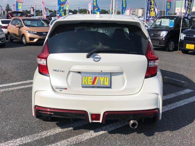 ニスモ S 1オーナー 5速MT RSRダウンサス HKSマフラー WORK17インチアルミ ドラレコ 純正SDナビ バックカメラ Bluetooth ブルーレイ LEDライト スタッドレス車載 スペアキー 禁煙(7枚目)