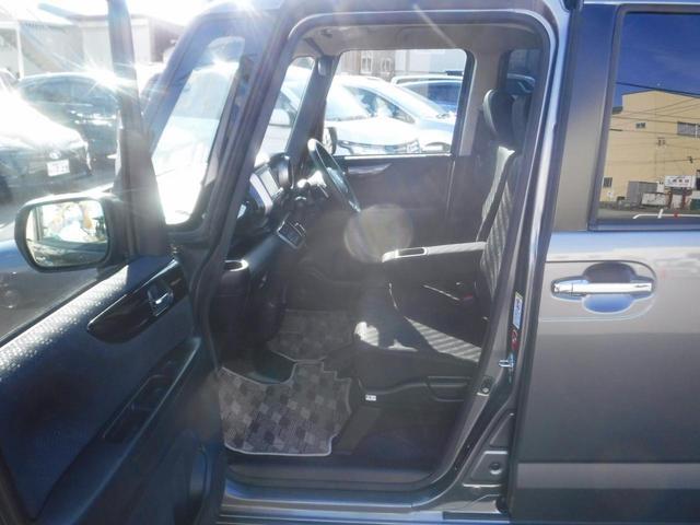 G・ターボAパッケージ 4WD・禁煙車・1オーナー・両側自動ドア・社外ナビ・Bカメラ・ETC・HID・フォグ・Pスタート・スマートキー・クルコン・衝突軽減装置・横滑り防止・純正14インチアルミ・100V電源(12枚目)