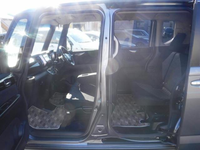 G・ターボAパッケージ 4WD・禁煙車・1オーナー・両側自動ドア・社外ナビ・Bカメラ・ETC・HID・フォグ・Pスタート・スマートキー・クルコン・衝突軽減装置・横滑り防止・純正14インチアルミ・100V電源(15枚目)