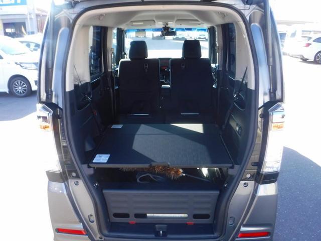 G・ターボAパッケージ 4WD・禁煙車・1オーナー・両側自動ドア・社外ナビ・Bカメラ・ETC・HID・フォグ・Pスタート・スマートキー・クルコン・衝突軽減装置・横滑り防止・純正14インチアルミ・100V電源(17枚目)
