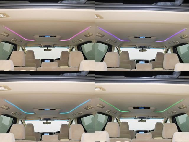 気分で変えられる16色のLEDルーフカラーイルミネーション☆後席から色の変更可能