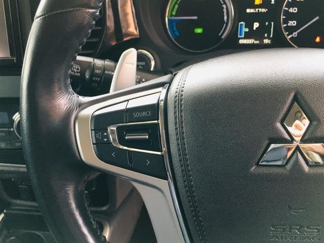 Gセーフティパッケージ 4WD アラウンドビューモニター LEDヘッドライト ハーフレザーシート シートヒーター ステアリングヒーター CD・DVD・USB・Bluetoothプレイヤー 衝突軽減ブレーキ(17枚目)