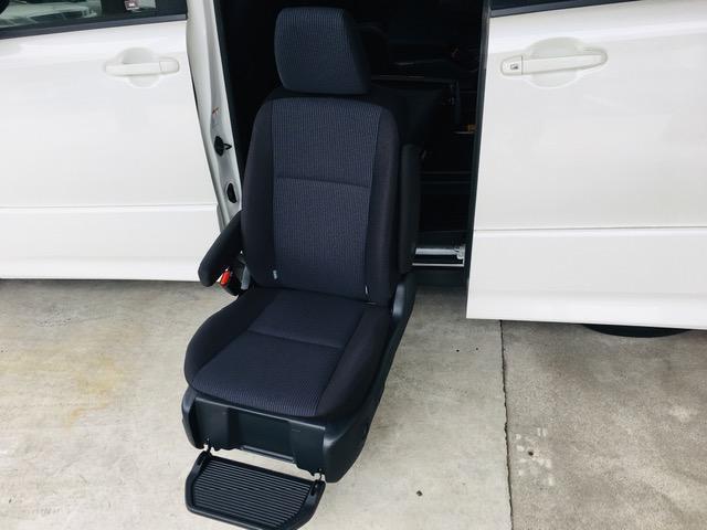 ZS ウェルキャブ サイドリフトアップシート 福祉車両 純正9インチナビ コーナーセンサー バックカメラ(28枚目)