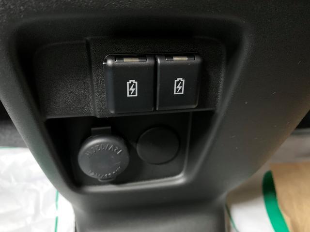 ハイブリッドGS 4WD スズキセーフティサポート デュアルカメラブレーキ マイルドハイブリッド アイドリングストップ 片側電動スライド LEDライト シートヒーター プッシュスタート 14インチ純正アルミホイール(21枚目)