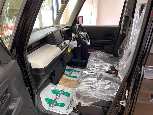 ハイブリッドG 4WD スマートキー ABS 横滑り防止装置 衝突軽減ブレーキシステム 障害物センサー オートエアコン シートヒーター 盗難防止装置 フルフラットシート オートライト(11枚目)