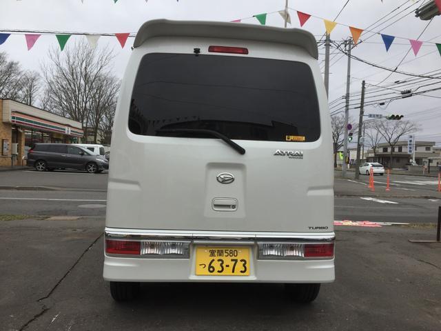 カスタムターボRS 4WD  ETC ナビ 寒冷地仕様(5枚目)