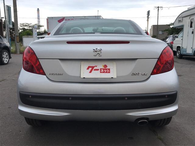 「プジョー」「プジョー 207」「オープンカー」「北海道」の中古車9