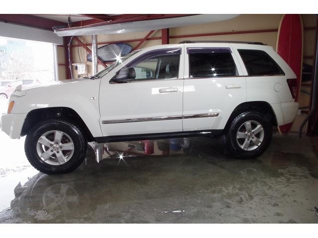 リミテッド4.7 4WD 1ナンバー取得済み リフトアップ ETC ホワイトレターマッドタイヤ付き 事故無 下回り防錆済み バックカメラ(10枚目)