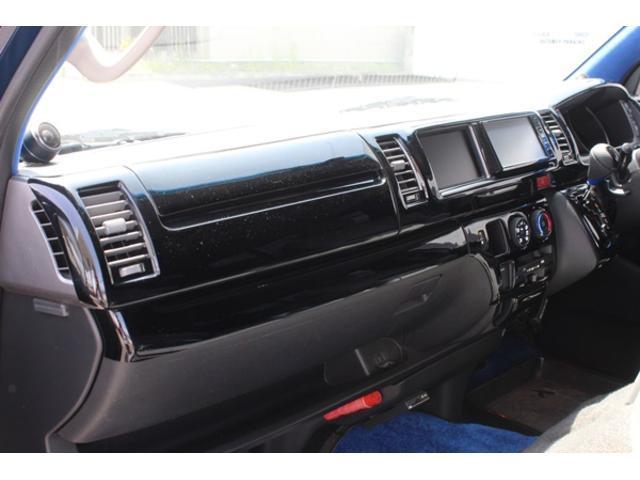 トヨタ ハイエースワゴン 4型フェイス カスタム ベットKIT ギブソンエアロキット