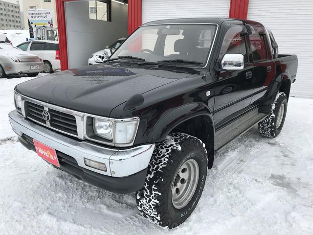 トヨタ ハイラックスピックアップ ダブルキャブ SSR-X ワイド ディーゼルターボ 4WD