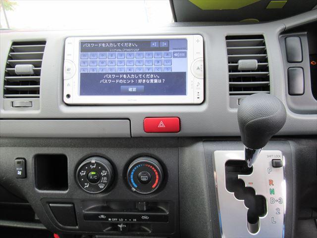 トヨタ レジアスエースバン ロングスーパーGL 4WD ETC A/T ナビ/TV