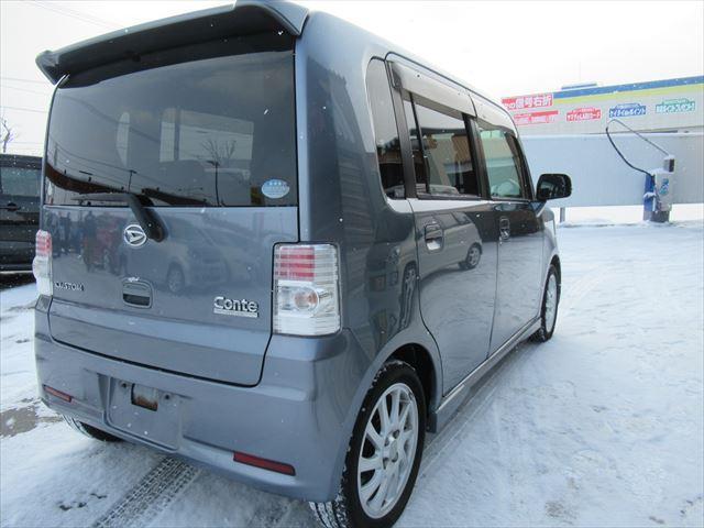 「ダイハツ」「ムーヴコンテ」「コンパクトカー」「北海道」の中古車4