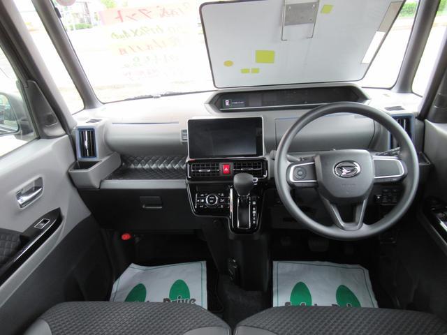 カスタムX 4WD ETC LEDライト エンジンスターター プッシュスタート 純正ナビ・TV ドライブレコーダー 左右パワースライドドア シートヒーター スマートアシスト ハーフレザーシート オートハイビーム(7枚目)